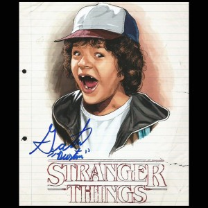 Gaten Matarazzo - Stranger Things signed Autograph 20,5 cm x 25,5 cm