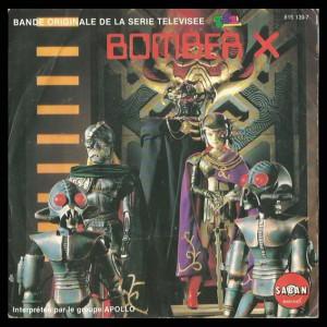 45T - Bande originale de la série Bomber X Interprétée par le groupe APOLO