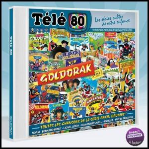 CD - Télé 80 - Goldorak UFO Robo Grendizer