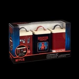 Stranger Things Retro Logo KitchenStorage Set