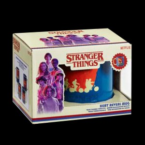 Stranger Things Bouteille metal Silhouette